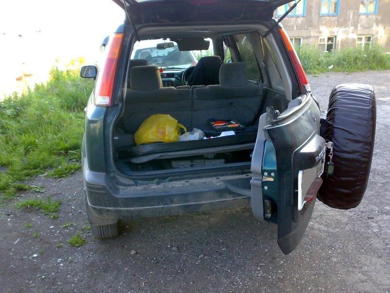 полка багажника honda cr-v