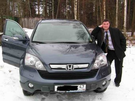 Honda CR-V 2008 - отзыв владельца