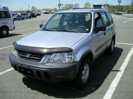 Honda CR-V 2001 - отзыв владельца