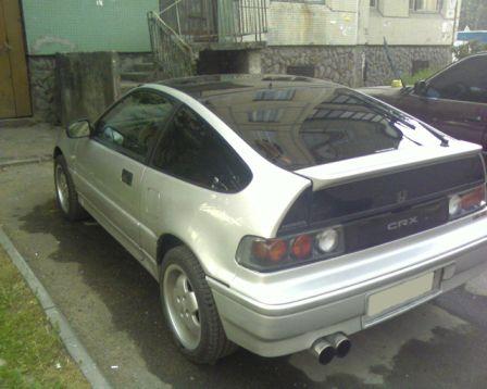 Honda CR-X 1988 - отзыв владельца