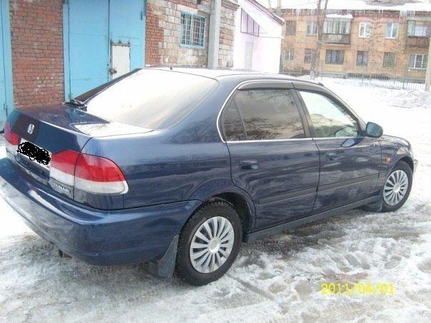 Honda Domani 1998 отзыв