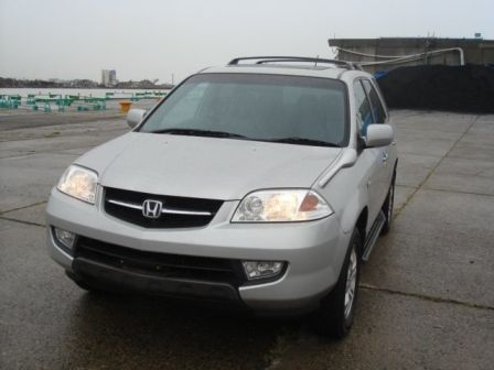 Honda MDX 2003 - отзыв владельца