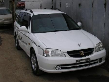 Honda Orthia 1999 - отзыв владельца