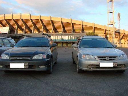 Honda Orthia 2001 - отзыв владельца