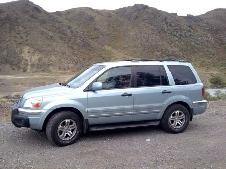 Honda Pilot 2002 - отзыв владельца