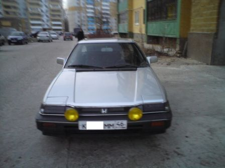 Honda Prelude 1986 - отзыв владельца