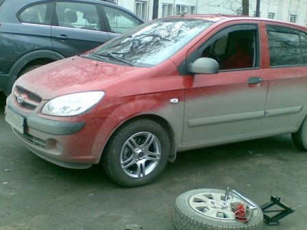 Hyundai Getz 2007 - отзыв владельца