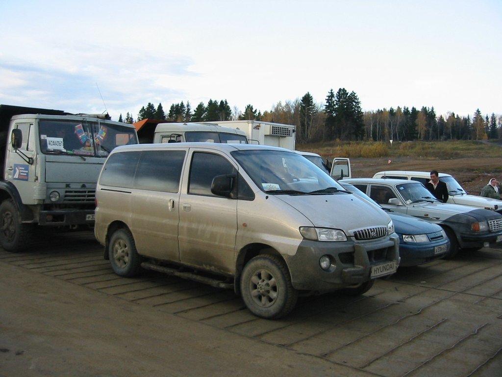 hyundai starex h1 2004 расход топлива