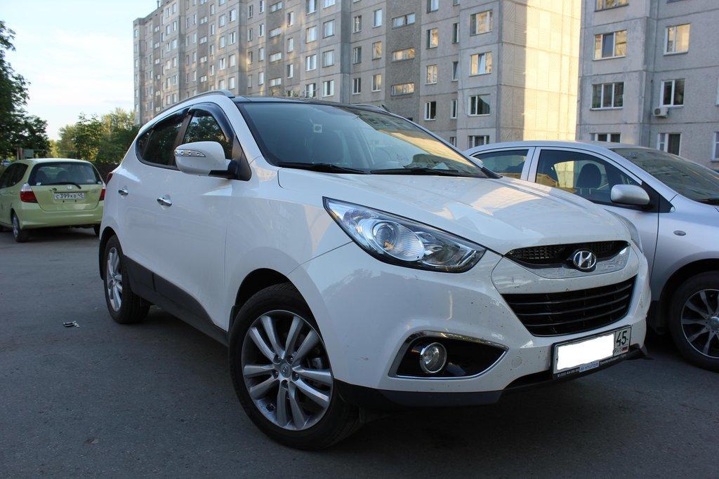 отзывы об автомобиле hyundai ix35, 2011