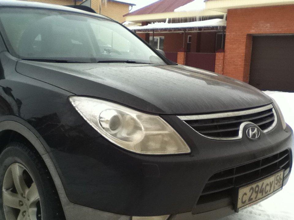 hyundai ix55 2011 расход по городу