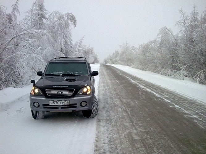Hyundai Terracan.