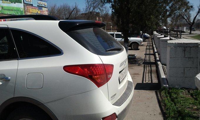 Hyundai Veracruz.