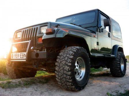 Jeep Wrangler 1995 - отзыв владельца