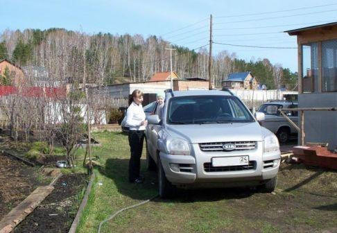 Kia Sportage 2007 - отзыв владельца