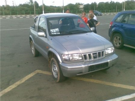 Kia Sportage 2002 - отзыв владельца