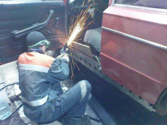 Ваз 2107 ремонт кузова