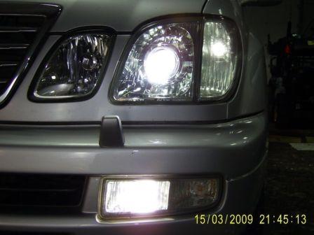 Lexus LX470 2005 - отзыв владельца