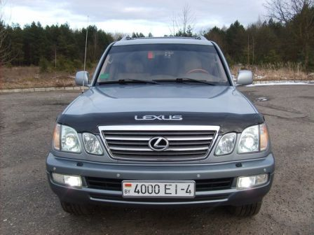 Lexus LX470 2003 - отзыв владельца