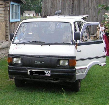 Mazda Bongo 1996 - отзыв владельца