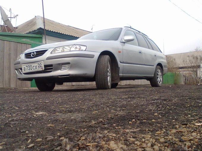Mazda Capella.