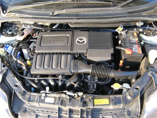 mazda demio 2002 dy3w характеристика сколько объем масла в двигателе