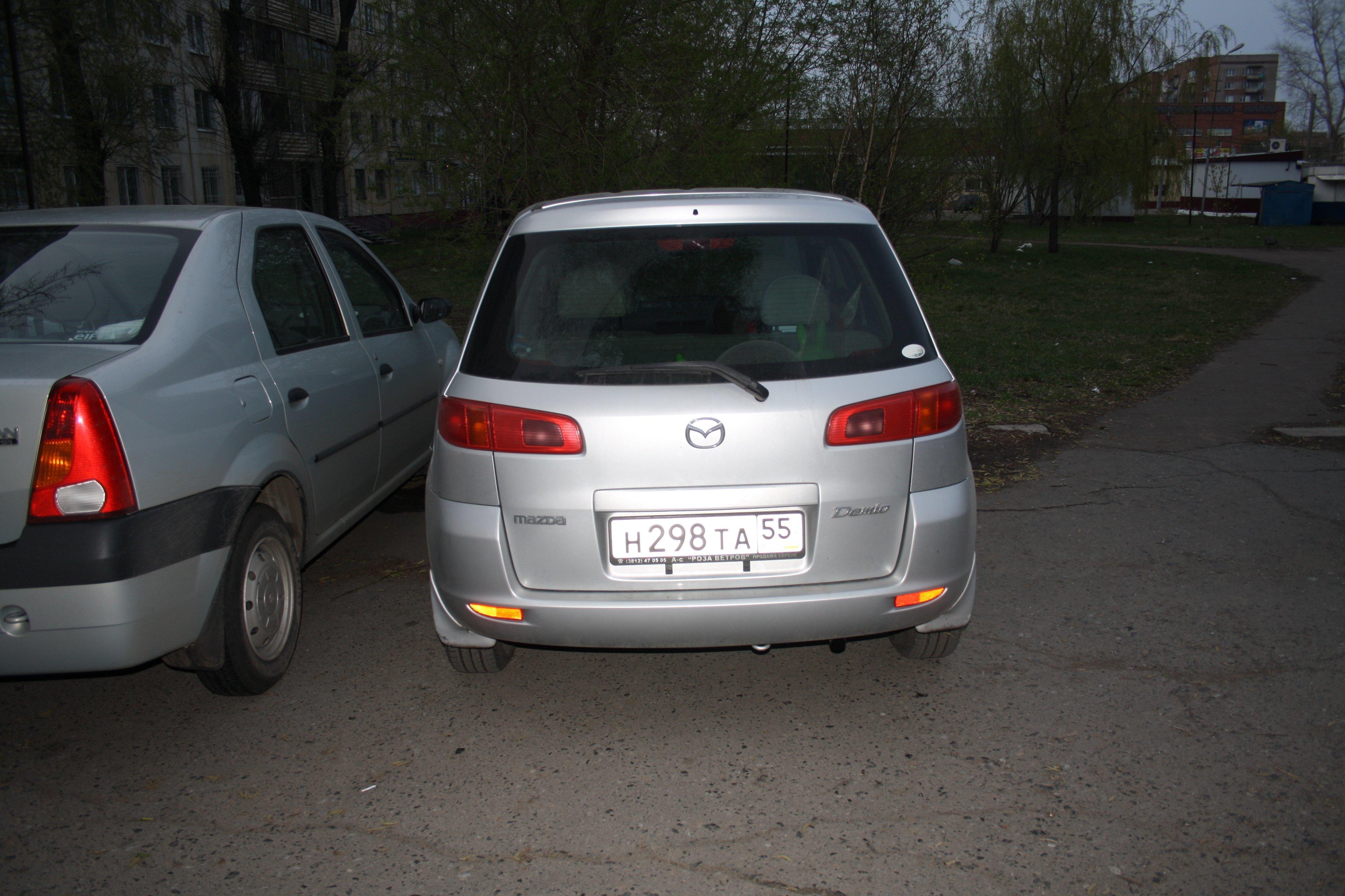 замена линков mazda demio 2007