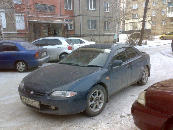 Mazda Lantis.