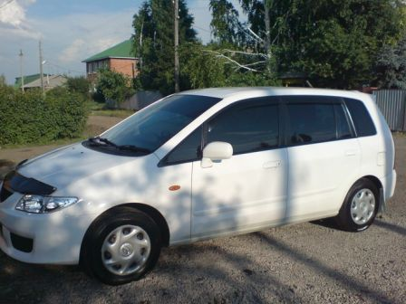 Mazda Premacy 2002 - отзыв владельца