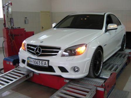 Mercedes-Benz C-Class 2009 - отзыв владельца