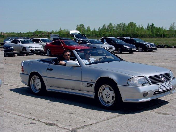 Mercedes-Benz CL-Class.