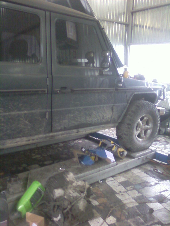 Замена втулок кулисы МКПП на Мерседесе W124