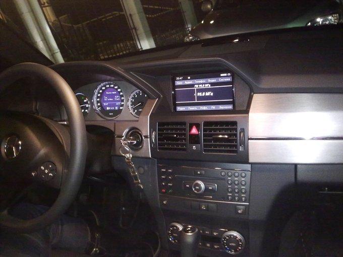 Mercedes-Benz GLK-Class.
