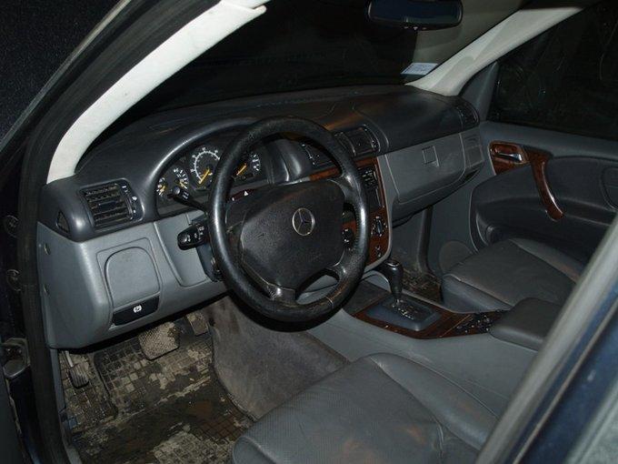 Mercedes-Benz M-Class.
