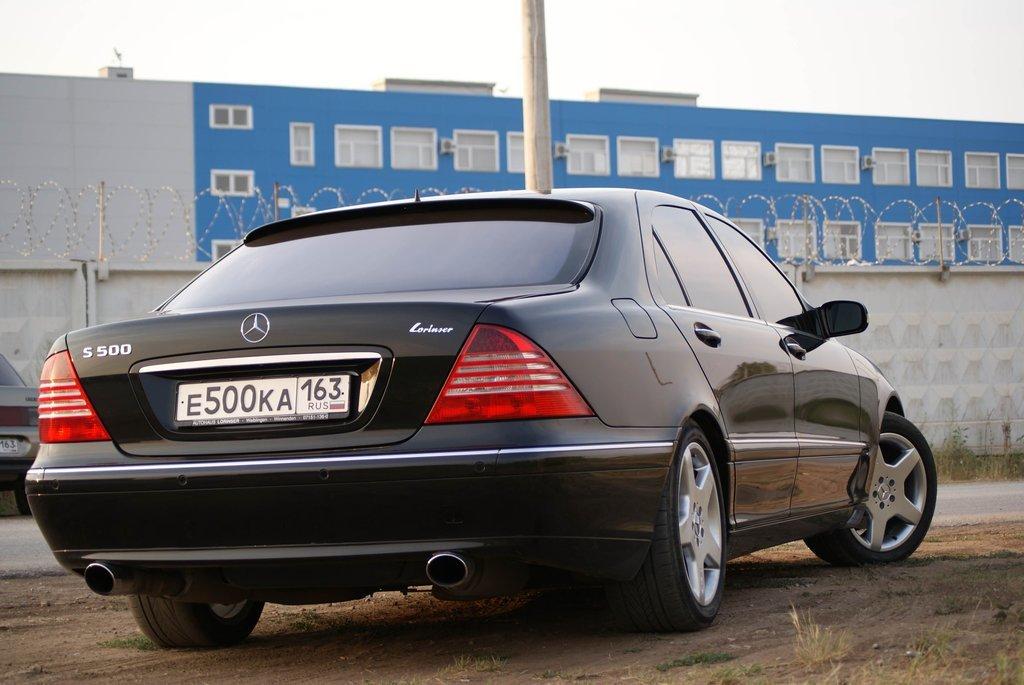 Mercedes-Benz S-Class 2000, бензин, 5000 куб.см, 306 - отзыв владельца