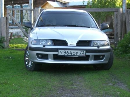 Mitsubishi Carisma 2003 - отзыв владельца
