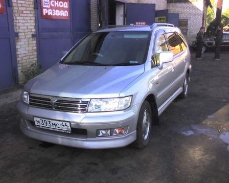 Mitsubishi Chariot Grandis 2000 - отзыв владельца