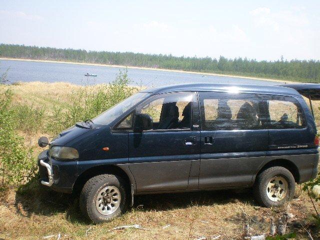 Mitsubishi Delica.