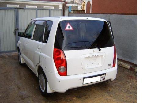 Mitsubishi Dingo 2000 - отзыв владельца