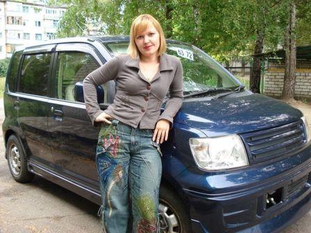 Mitsubishi eK-Wagon 2001 - отзыв владельца