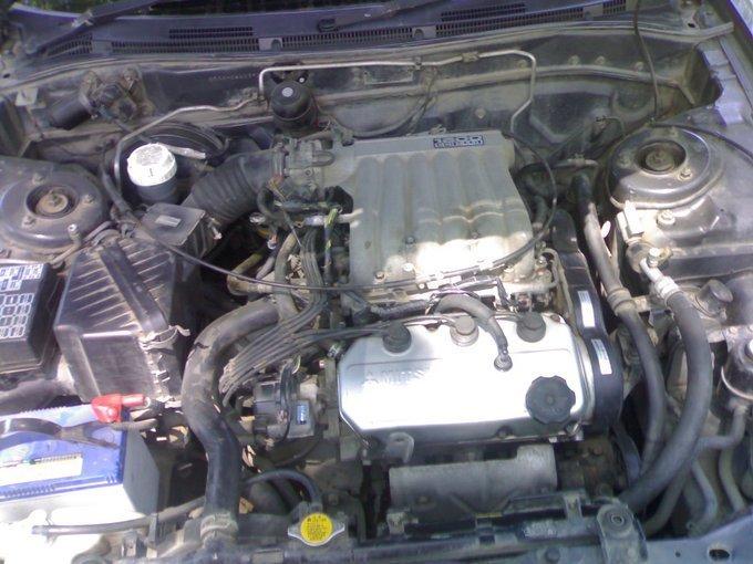 комплектация автомобиля митсубиси галант 1993 6а11 е53а