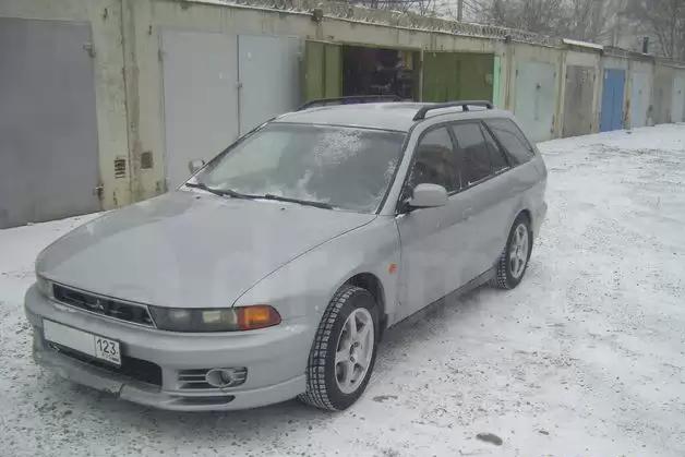 митсубиси галант 1998 зима