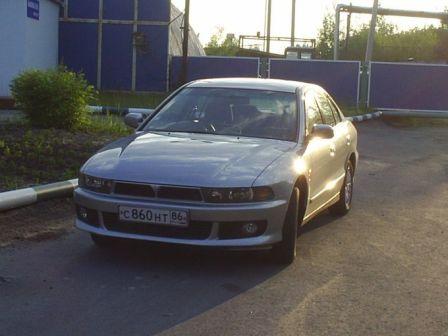 Mitsubishi Galant 2001 - отзыв владельца