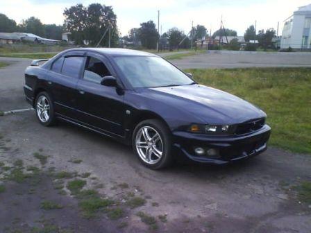 Mitsubishi Galant 2003 - отзыв владельца