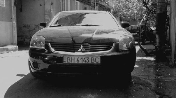 Mitsubishi Galant 2007 - отзыв владельца