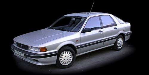 Mitsubishi Galant 1992 - отзыв владельца