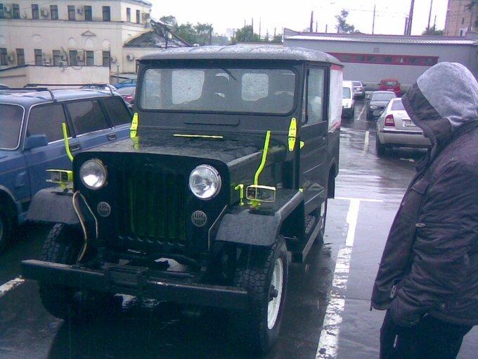 Mitsubishi Jeep.