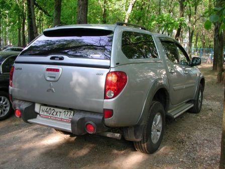 Mitsubishi L200 2007 - отзыв владельца