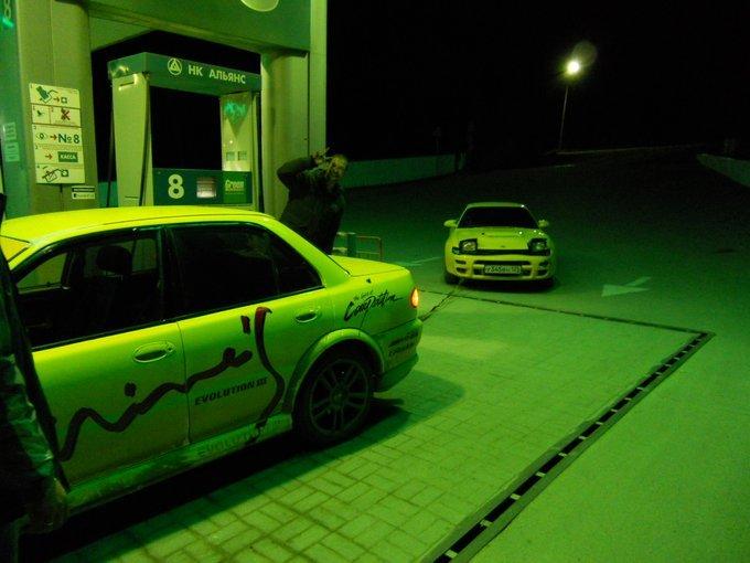 Mitsubishi Lancer Evolution.