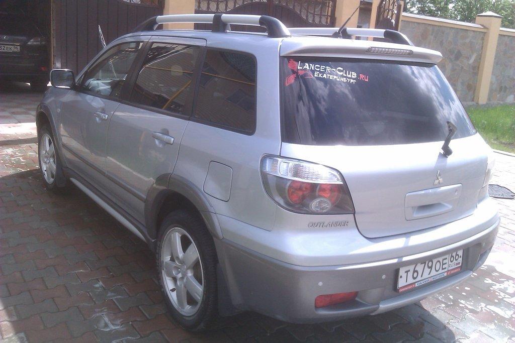 mitsubishi outlander отзывы 2003 2004