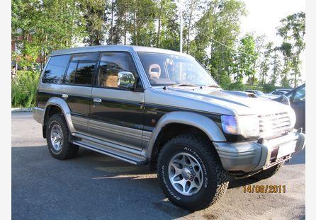 Mitsubishi Pajero 1996 отзыв